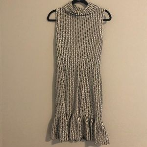 Alaia black and white dress. NWOT
